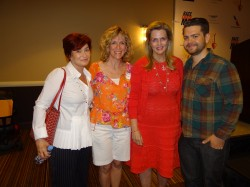 Sharon Osbourne, Kathy Reagan Young, Nancy Davis, Jack Osbourne