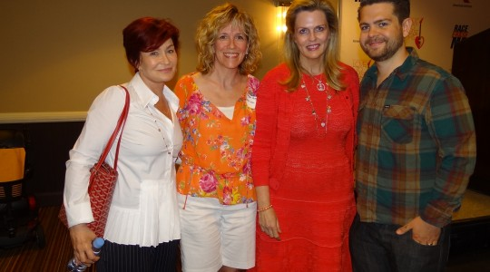 Sharon Osbourne, Kathy Reagan Young, Nancy Davis and Jack Osbourne