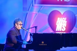 Sir Elton John at the Race to Erase MS fundraiser