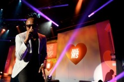 Taio Cruz at the Race to Erase MS fundraiser